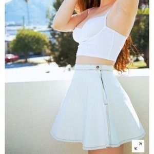 American Apparel Skirts - American apparel denim circle skirt in light wash